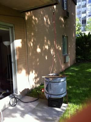 Apartment Brewing with Ryan – 15 Gal Electric BIAB Rig
